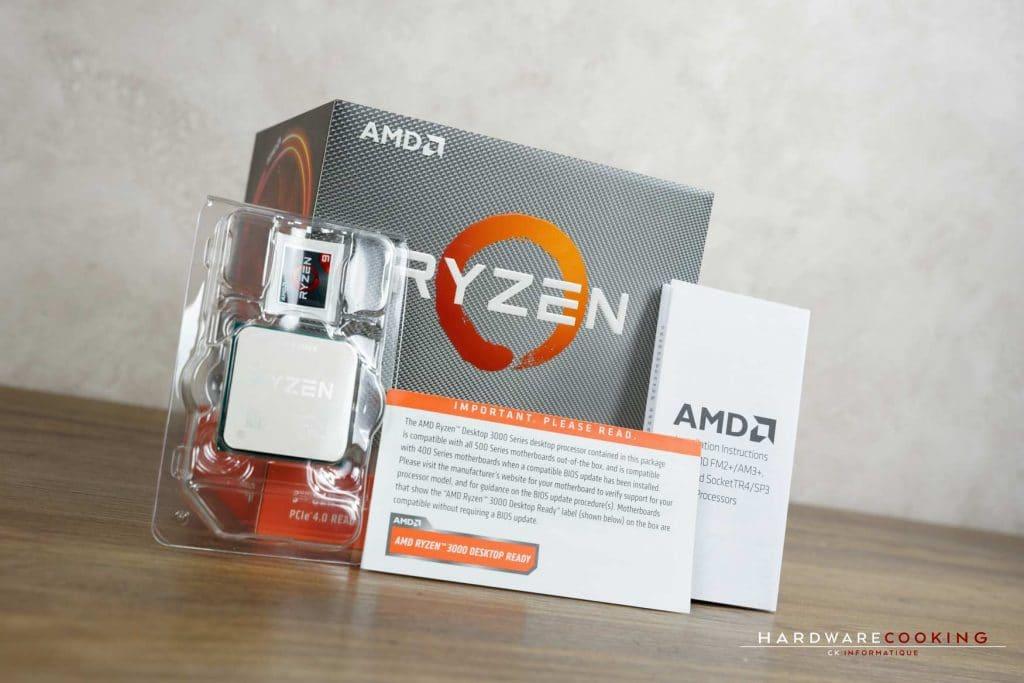 test processeur AMD Ryzen 9 3900X