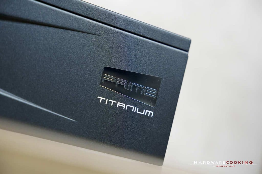 Test alimentation Seasonic Prime Ultra 750W Titanium