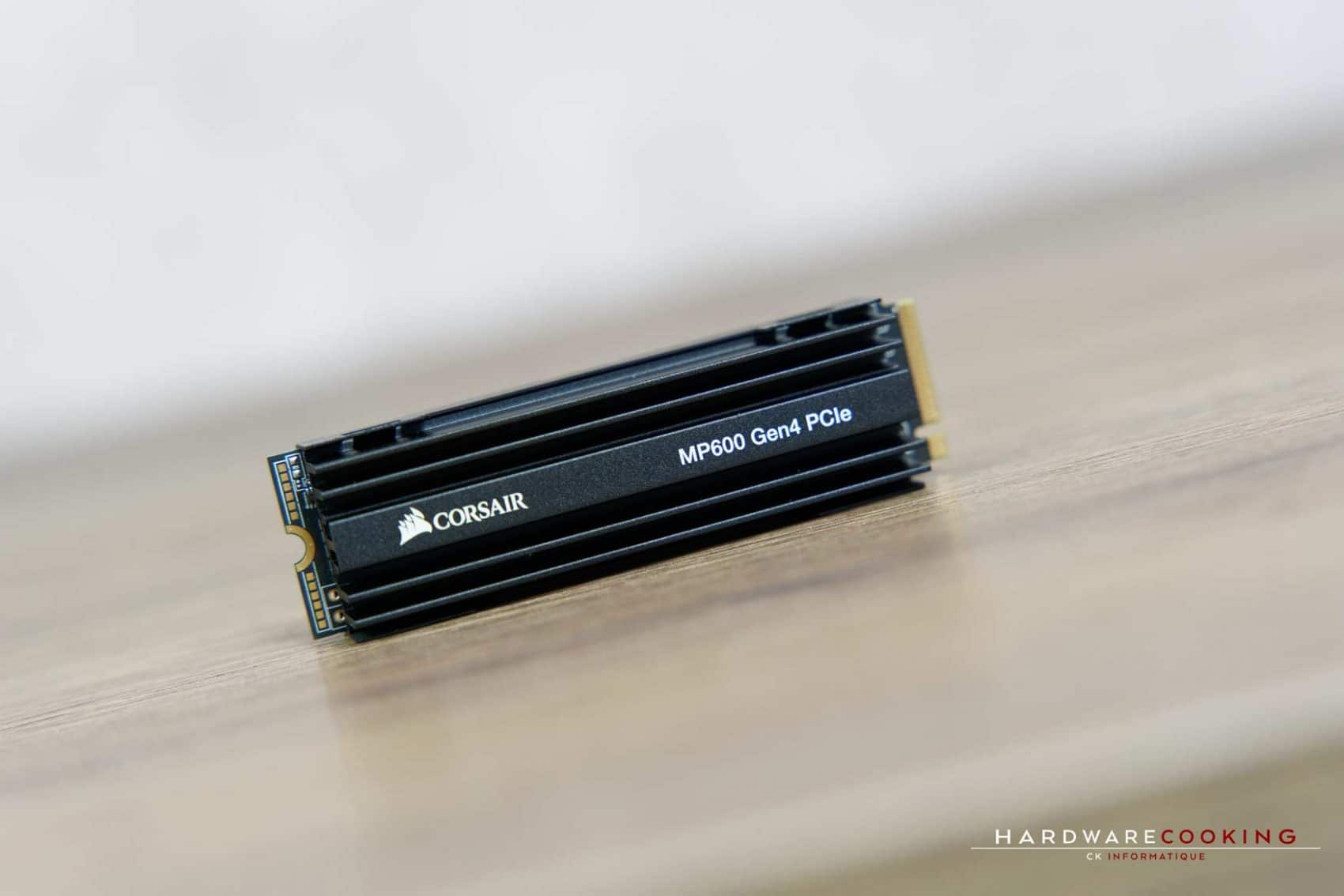 Test SSD Corsair Force MP600 1 To