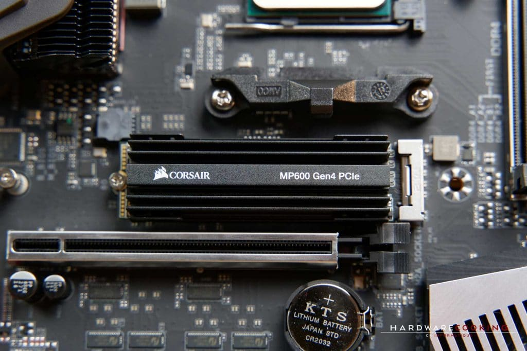 Benchmark SSD Corsair PCIe 4.0