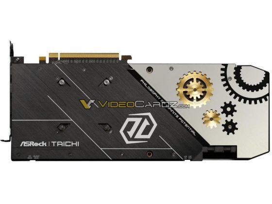 Carte graphique ASRock RX 5700 XT Taichi backplate