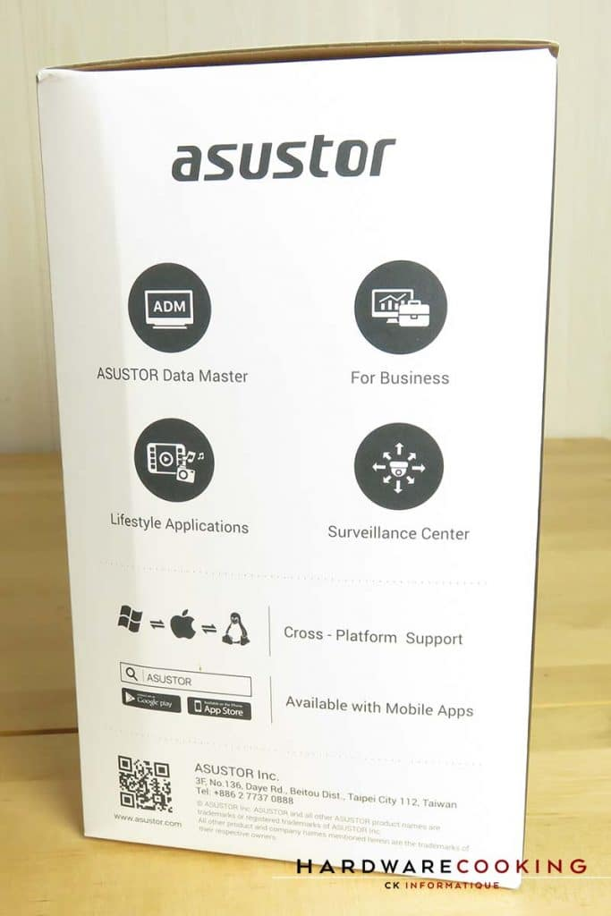 Asustor Nimbustor AS5202T boite