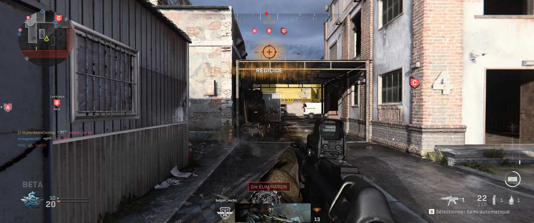 Test beta Call of Duty : Modern Warfare