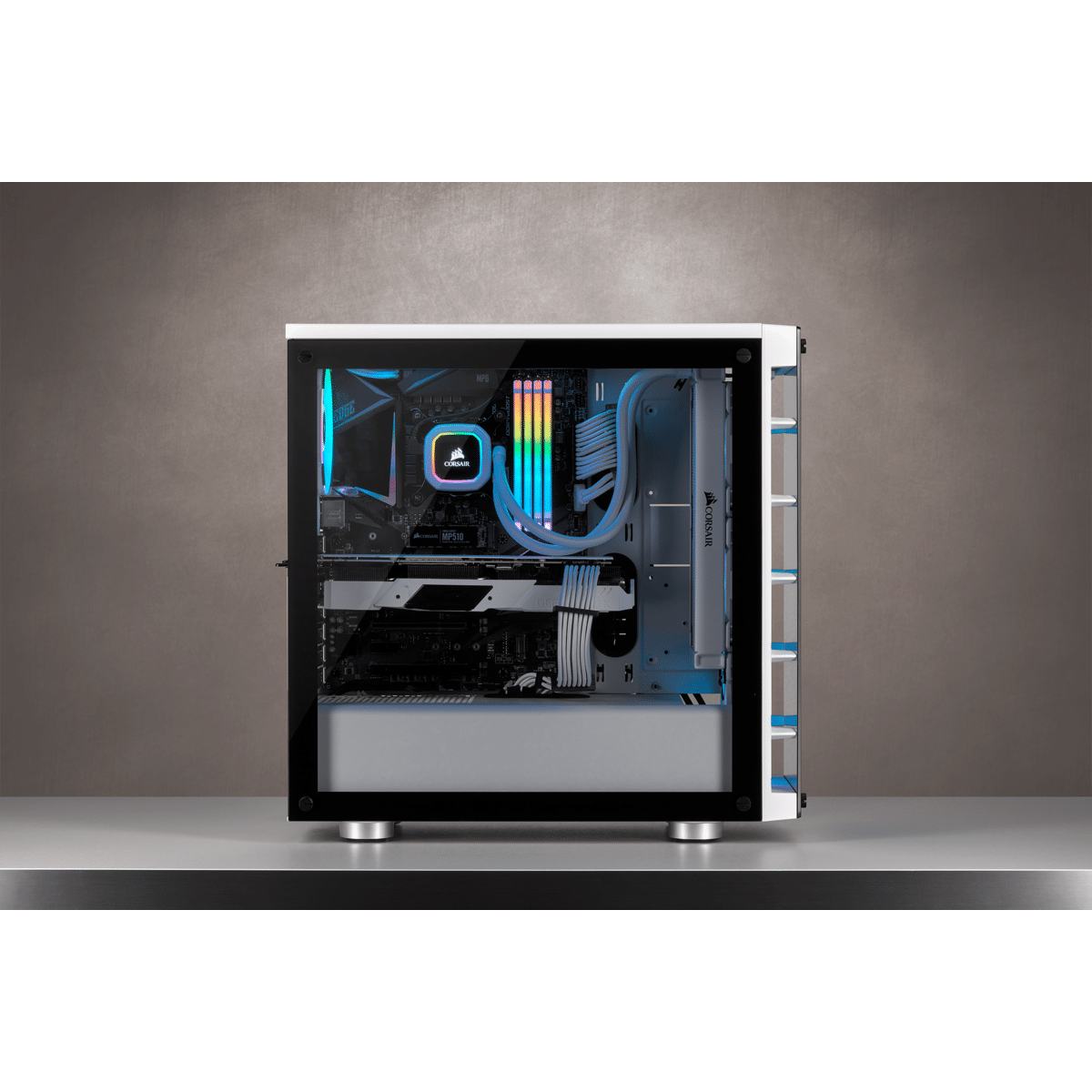 Boîtier Corsair iCUE 465X RGB