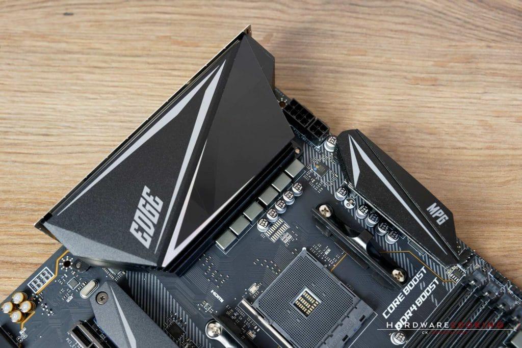 Systeme de refroidissement VRM MSI MPG X570 Gaming Edge WiFi
