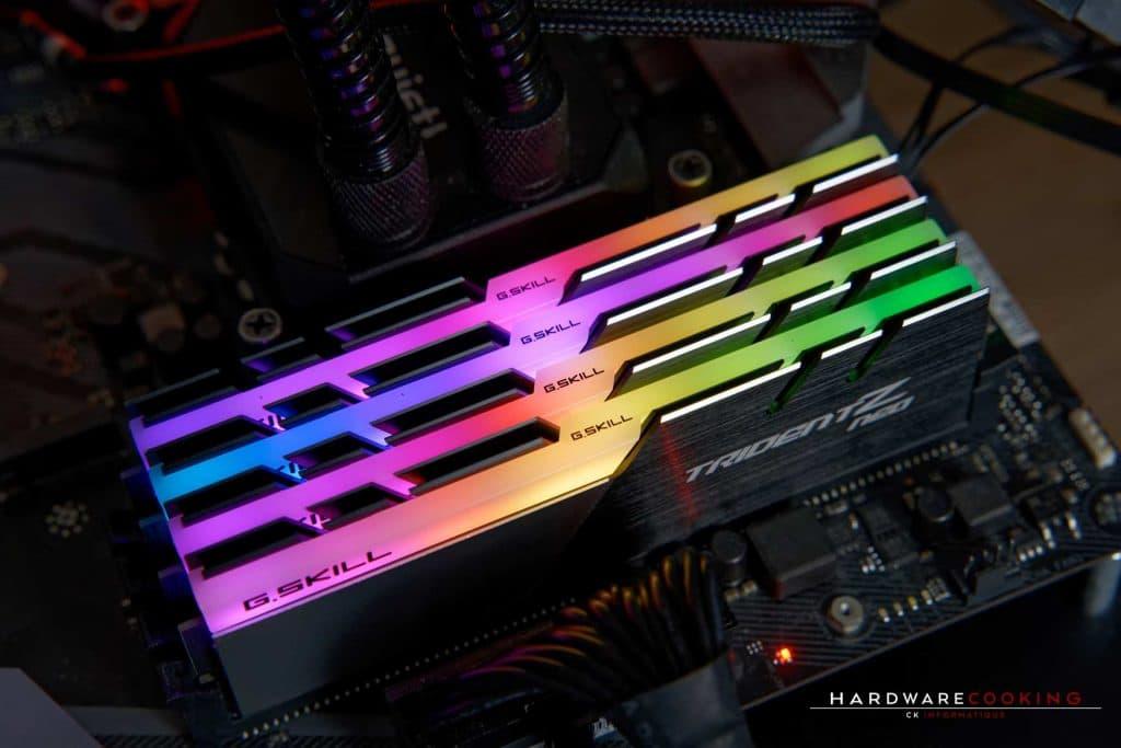 DDR4 G.SKILL Trident Z NEO RGB