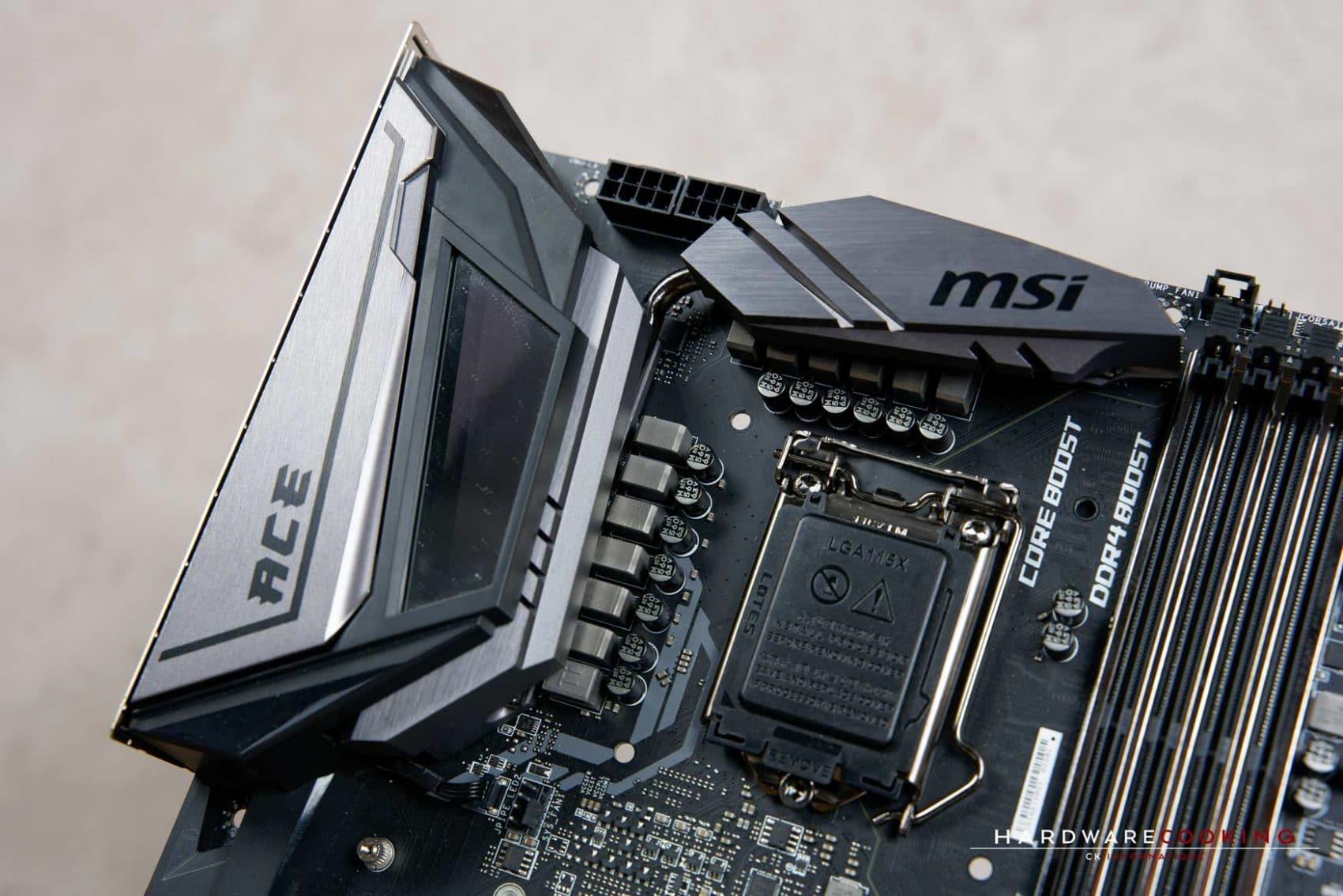 Système de refroidissement VRM MSI MEG Z390