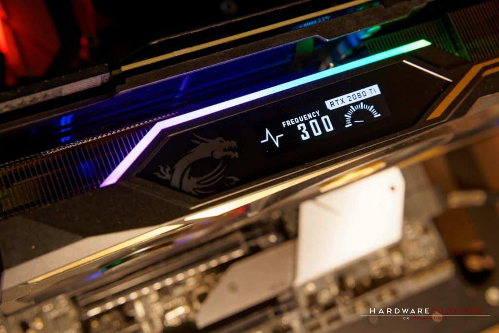 Dynamic Dashboard MSI RTX 2080 Ti Lightning Z