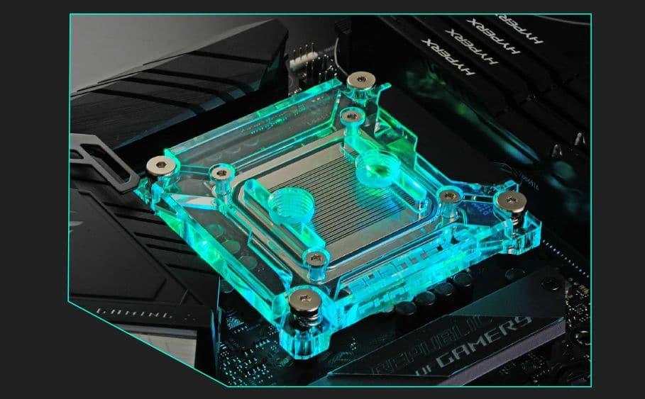 Waterblock CPU Phanteks Glacier C360I et C360A RGB