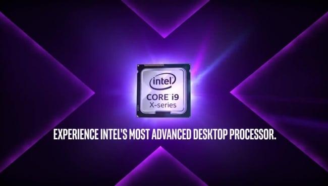 La génération de processeur Intel Core X-Series Cascade Lake-X lancé au 7 octobre