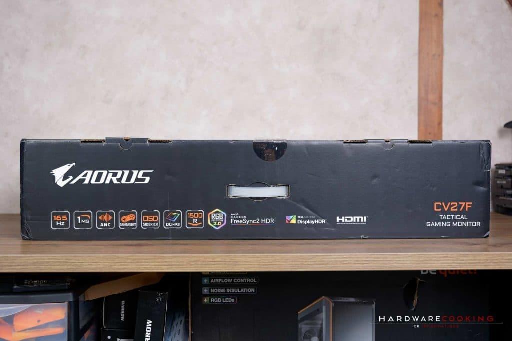 AORUS CV27F carton