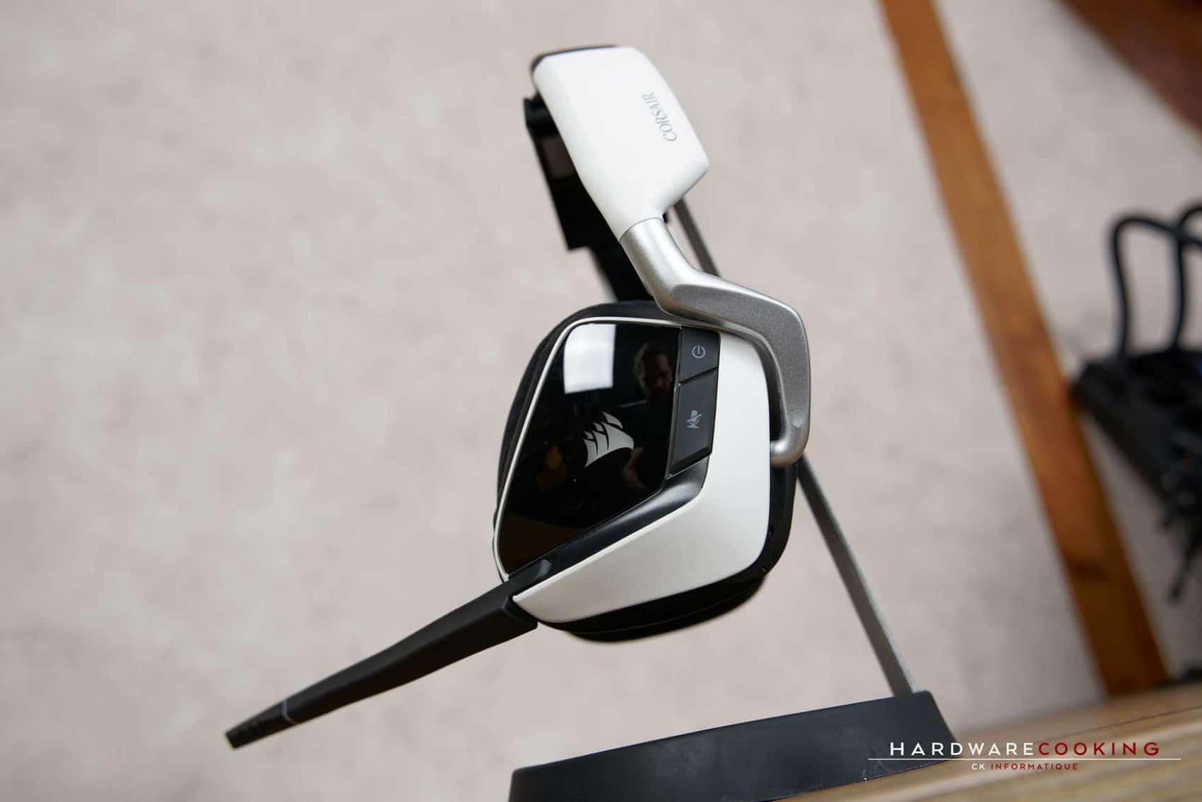 Test casque Corsair Void RGB Elite Wireless