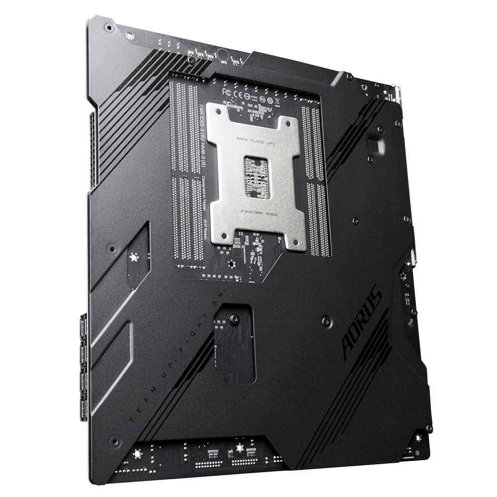 Gigabyte TRX40 AORUS MASTER Backplate