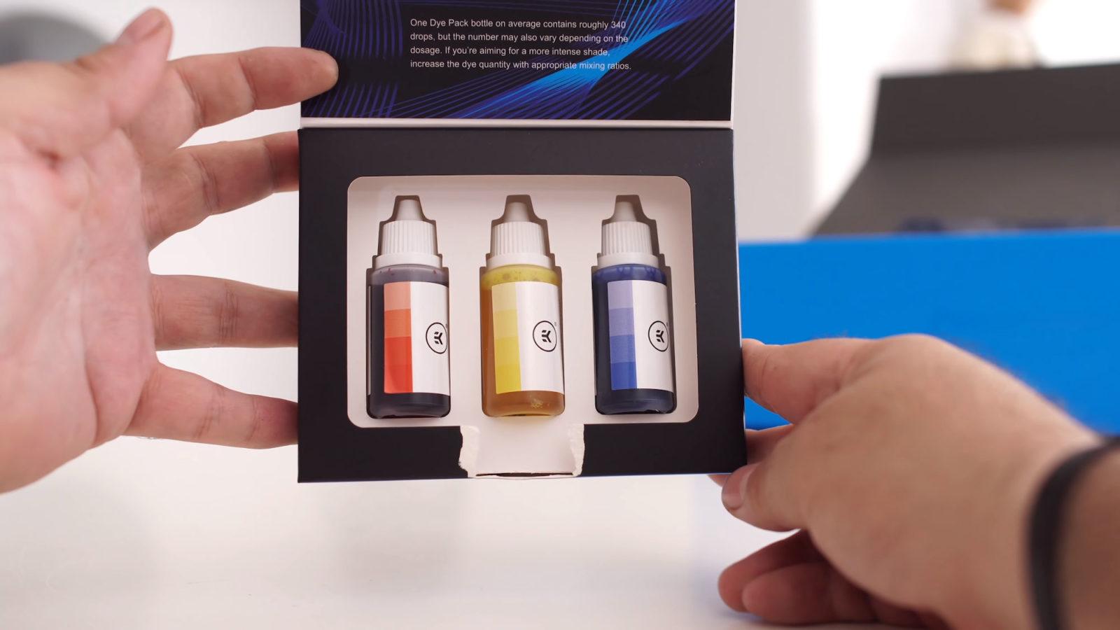 Pack de colorant EKWB PowerColor Radeon RX 5700XT