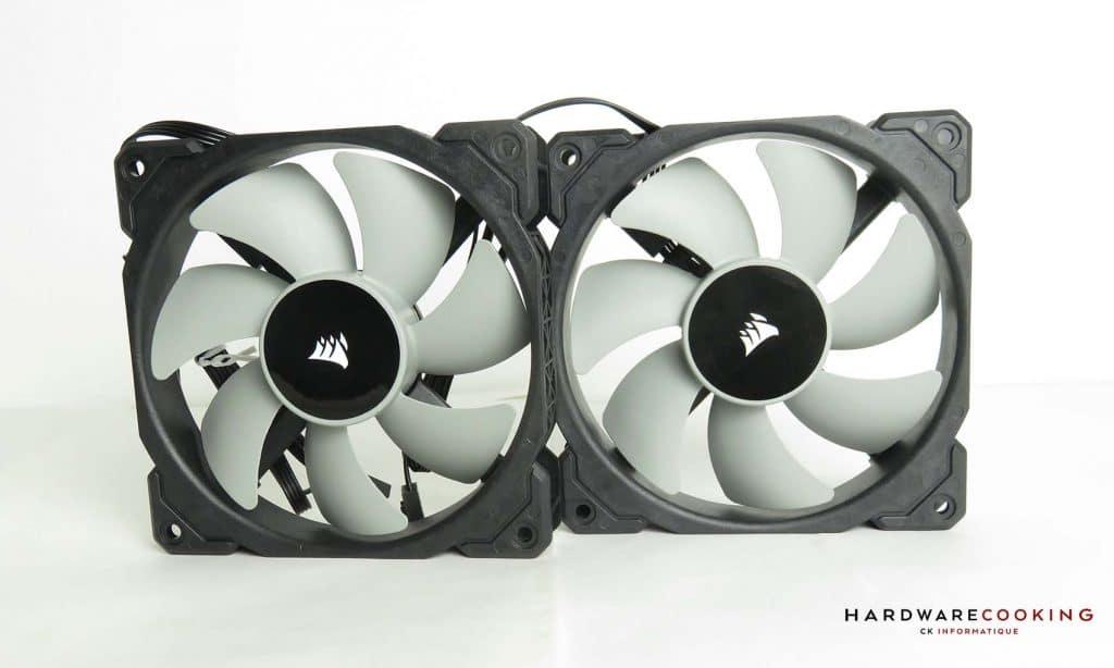 Corsair iCUE H100i RGB Pro XT ventilateur