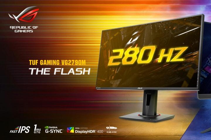 écran ASUS TUF VG279QM 280 Hz