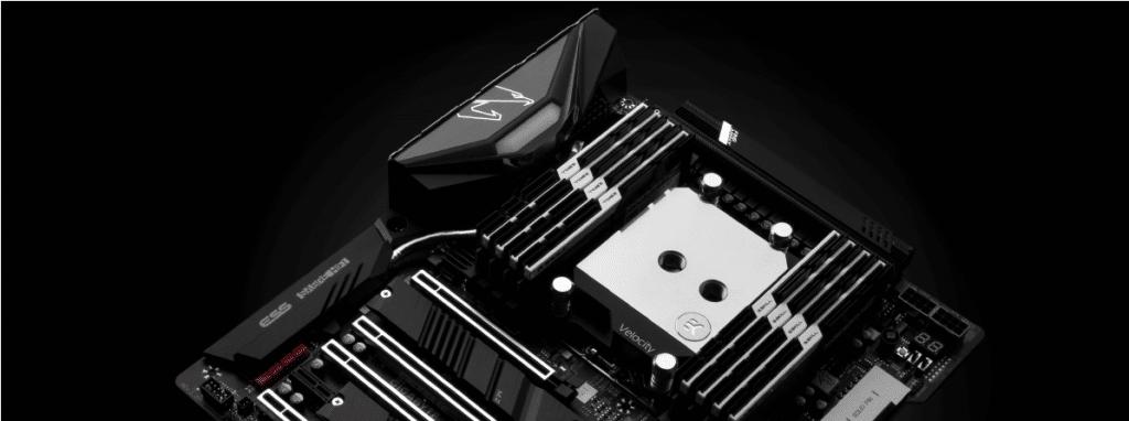 EK-Velocity sTR4 compatibilité avec chipset AMD TRX40 sTRX4