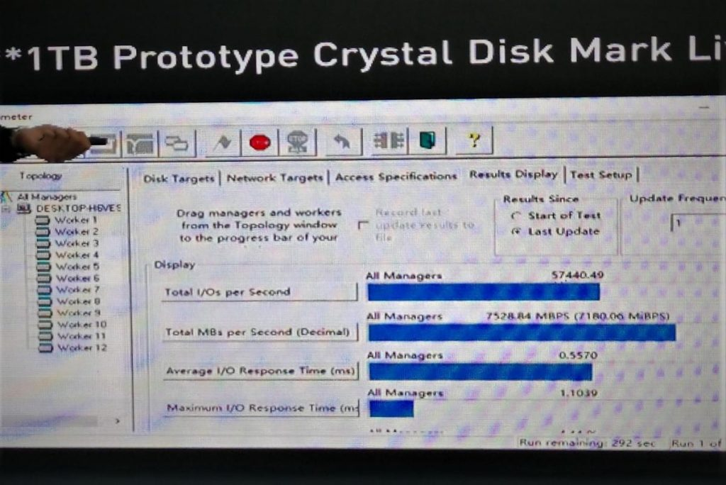 Lexar prototype SSD