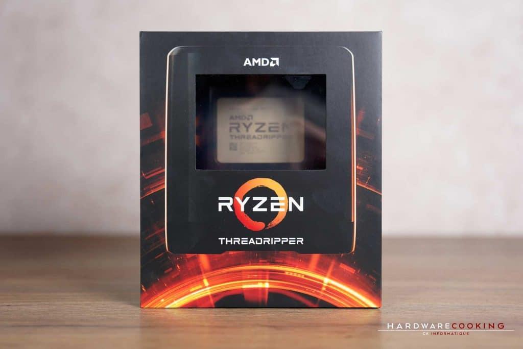 boîtier AMD Ryzen Threadripper 3000
