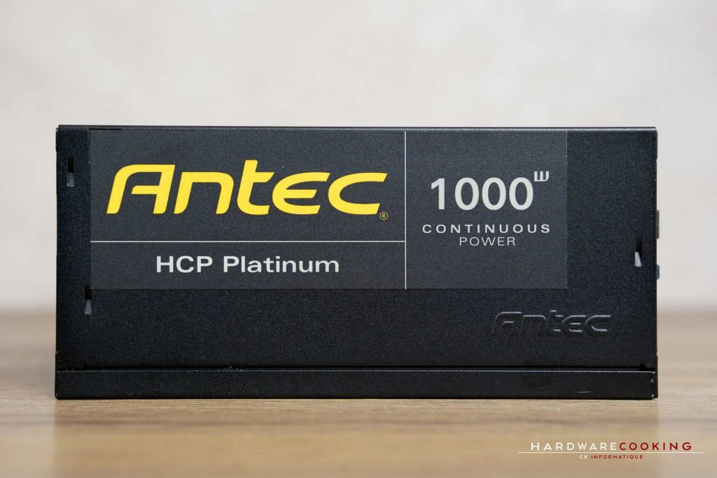 Test alimentation ANTEC HCP-1000 Platinum