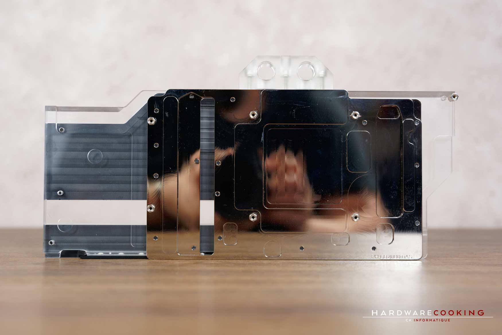 Test waterblock GPU Phanteks Glacier G2080Ti STRIX Edition