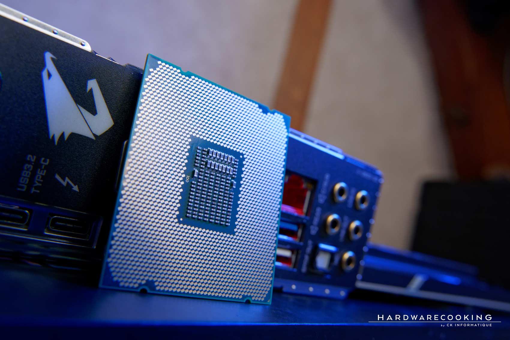 Test processeur 18 cœurs 36 threads Intel Cascade Lake-X