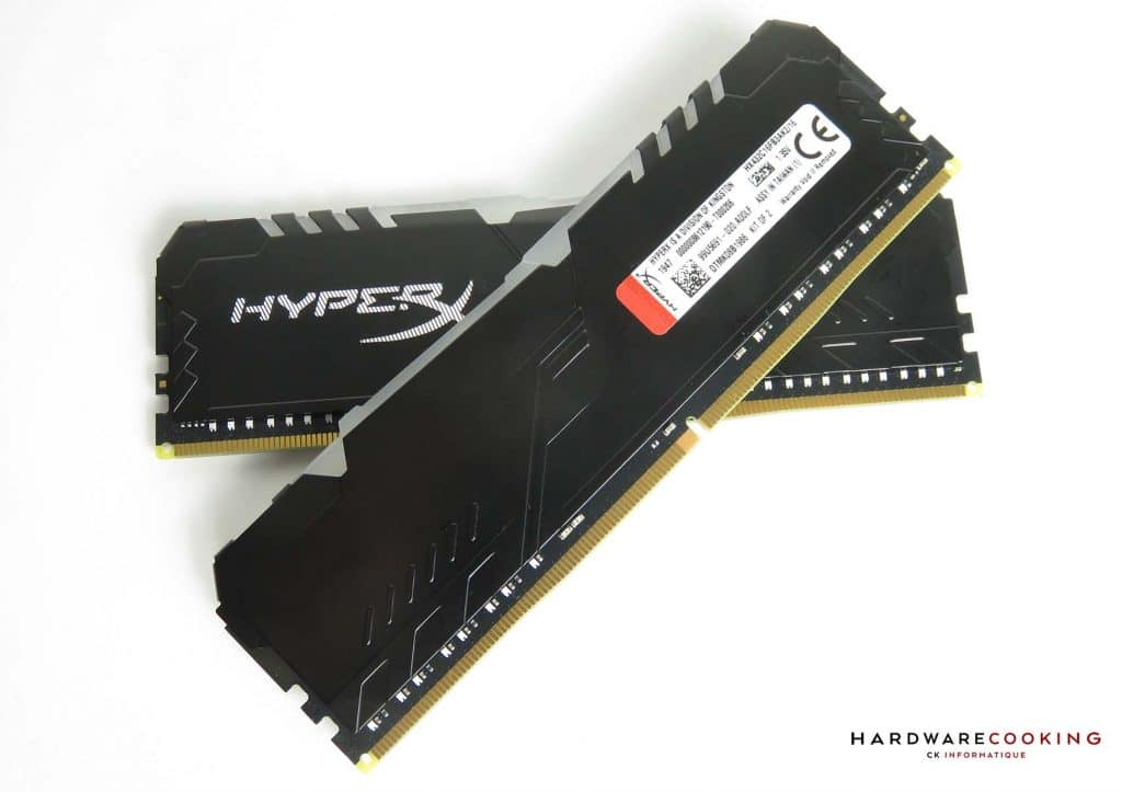 HyperX Fury RGB étiquette