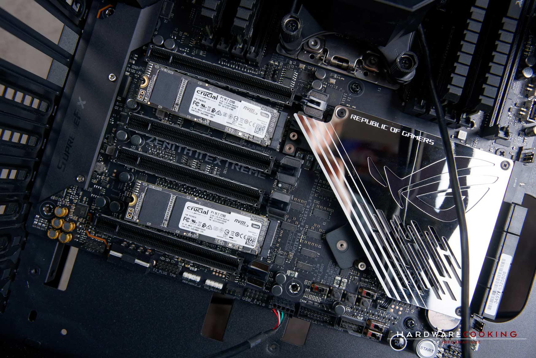Installation SSD M.2