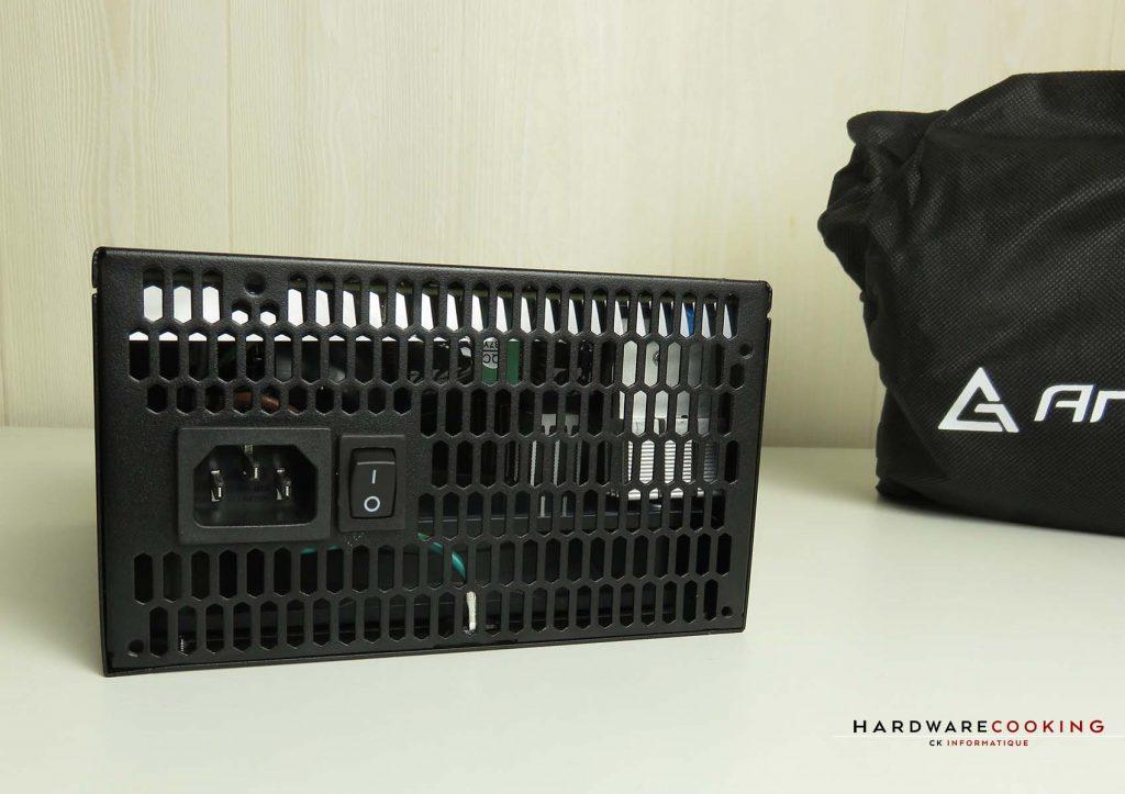 ANTEC HCG750 Bronze grille