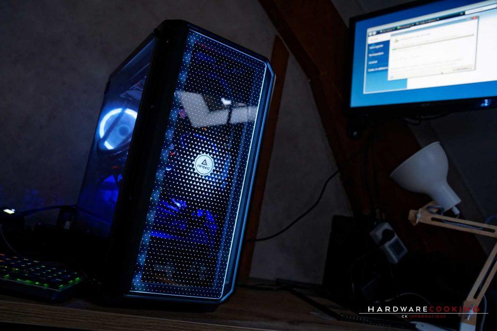 Éclairage RGB boîtier ANTEC NX1000