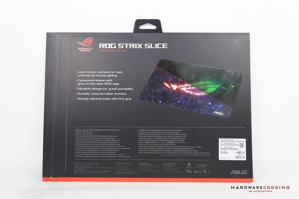 Test Tapis ROG Strix Slice