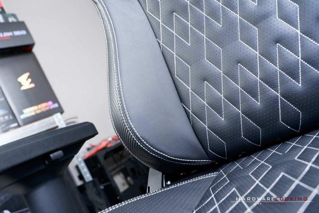 surpiqûres fauteuil gaming Oraxeat XL800