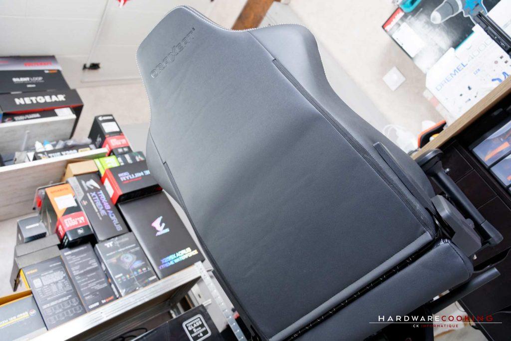 test fauteuil Oraxeat XL800