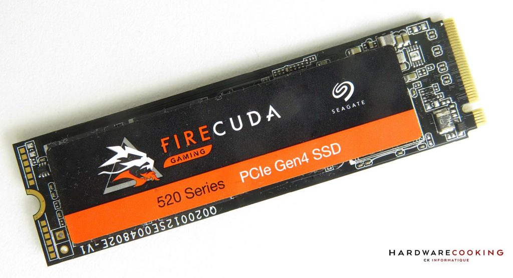 Test SSD Seagate FireCuda 520 1 To