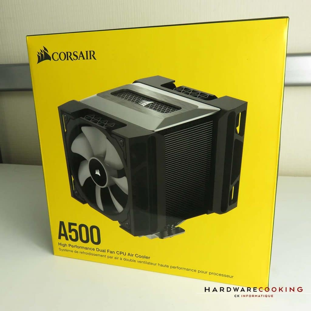 Corsair A500 boîte