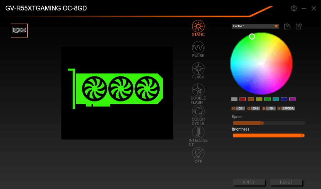 GIGABYTE RGB FUSION 2.0