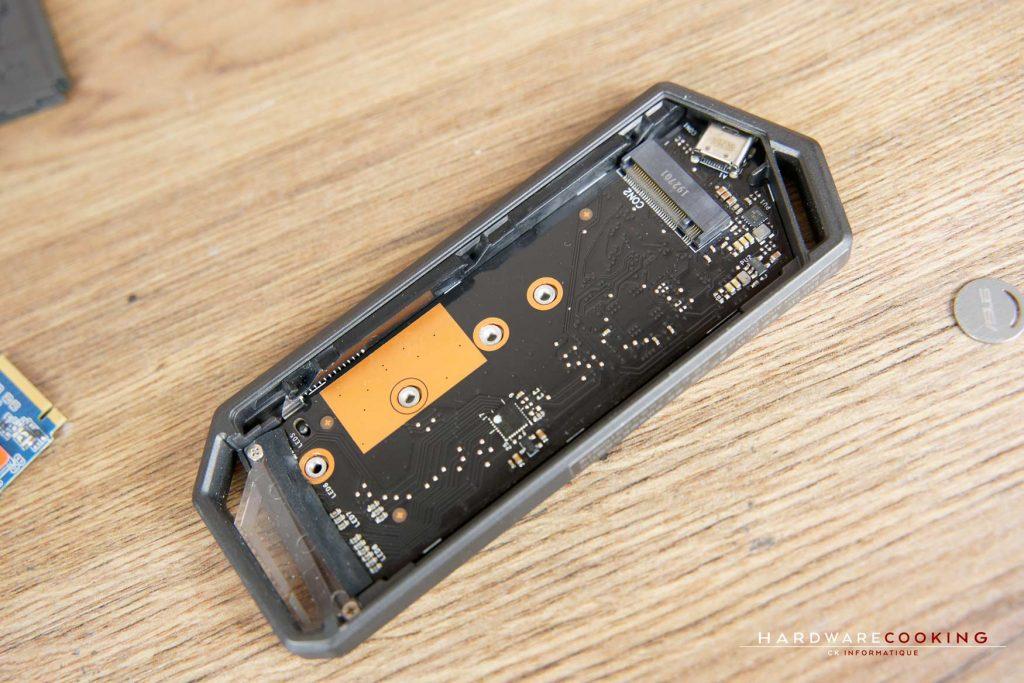 Installation SSD ASUS ROG Strix Arion
