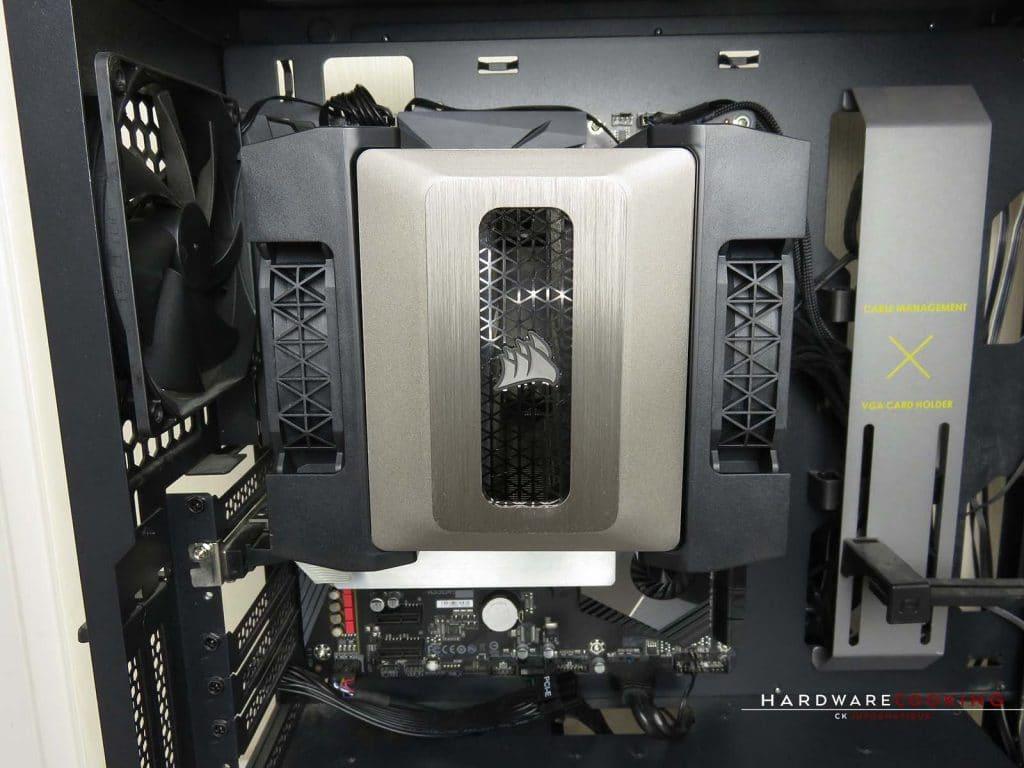 Corsair A500 montage final