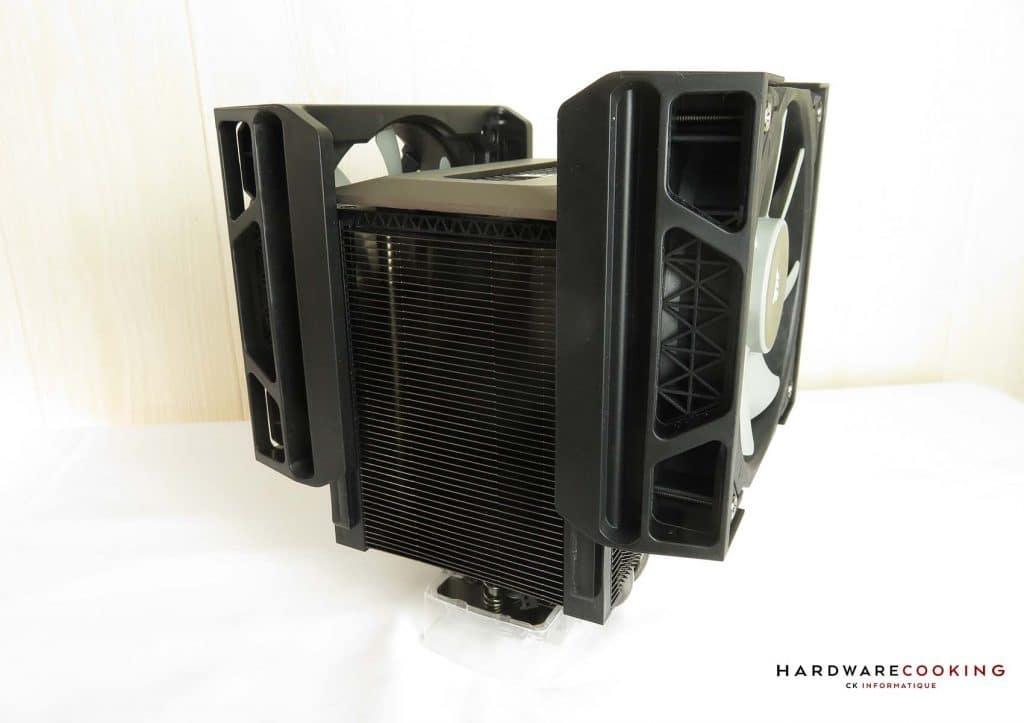 Corsair A500 rails ventilateurs
