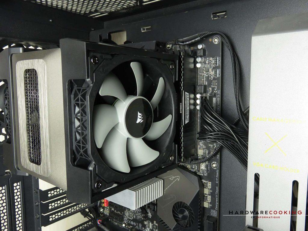 Corsair A500 ventilateur mémoire