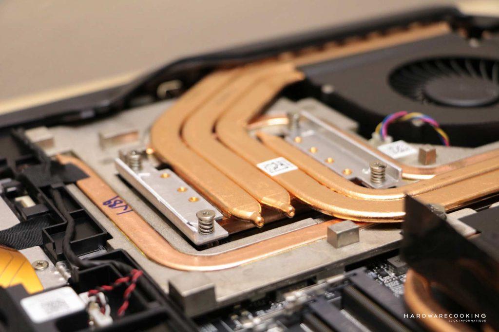 Redroidissement GPU MSI GT76 Titan Thermal Throttling