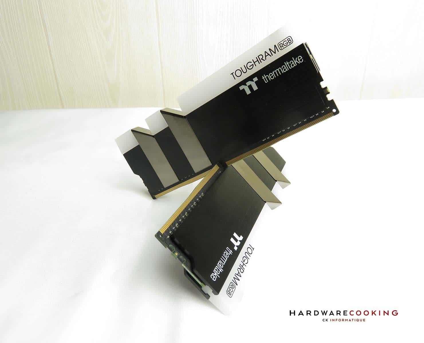 Test Thermaltake Toughram RGB 3600 MHz