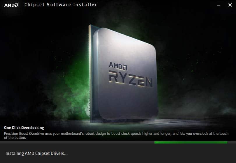 AMD Chipset Drivers Software Installer