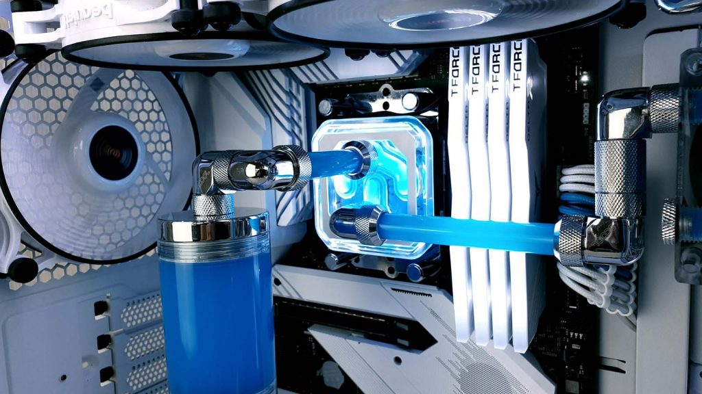 Build Pastel DX by Mod 83 waterblock CPU
