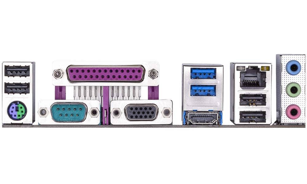 GIGABYTE GA-E6010N connectique