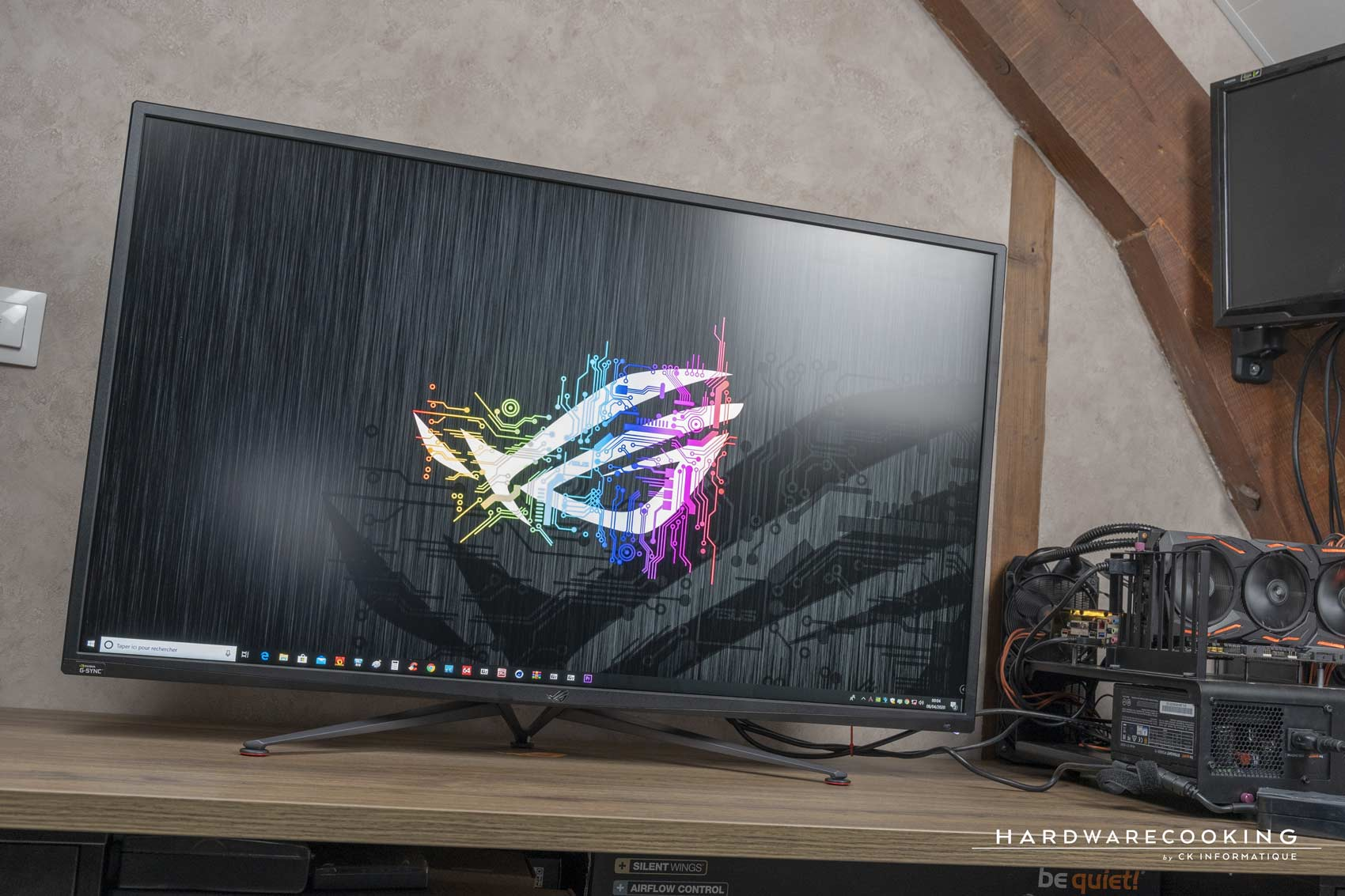 test écran gamer ASUS ROG Swift PG43UQ