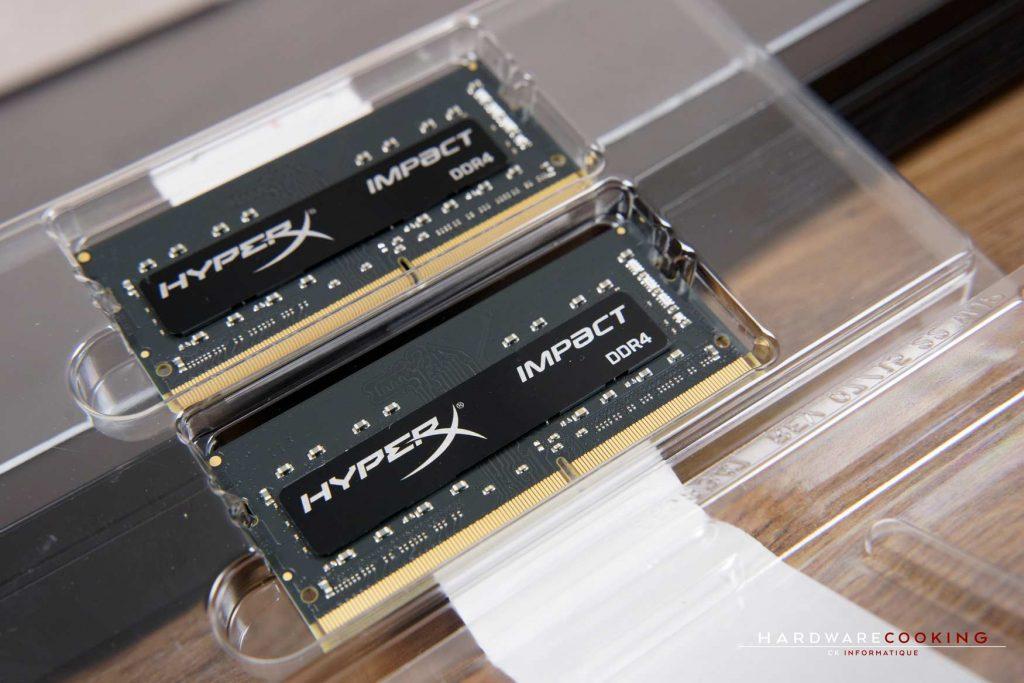 Test DDR4 HyperX Impact SO-DIMM 2666 MHZ CL15