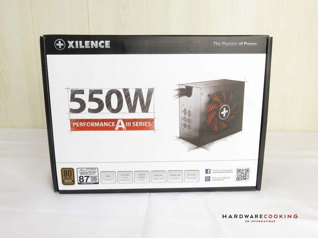 alimentation XILENCE XP550MR11 boîte