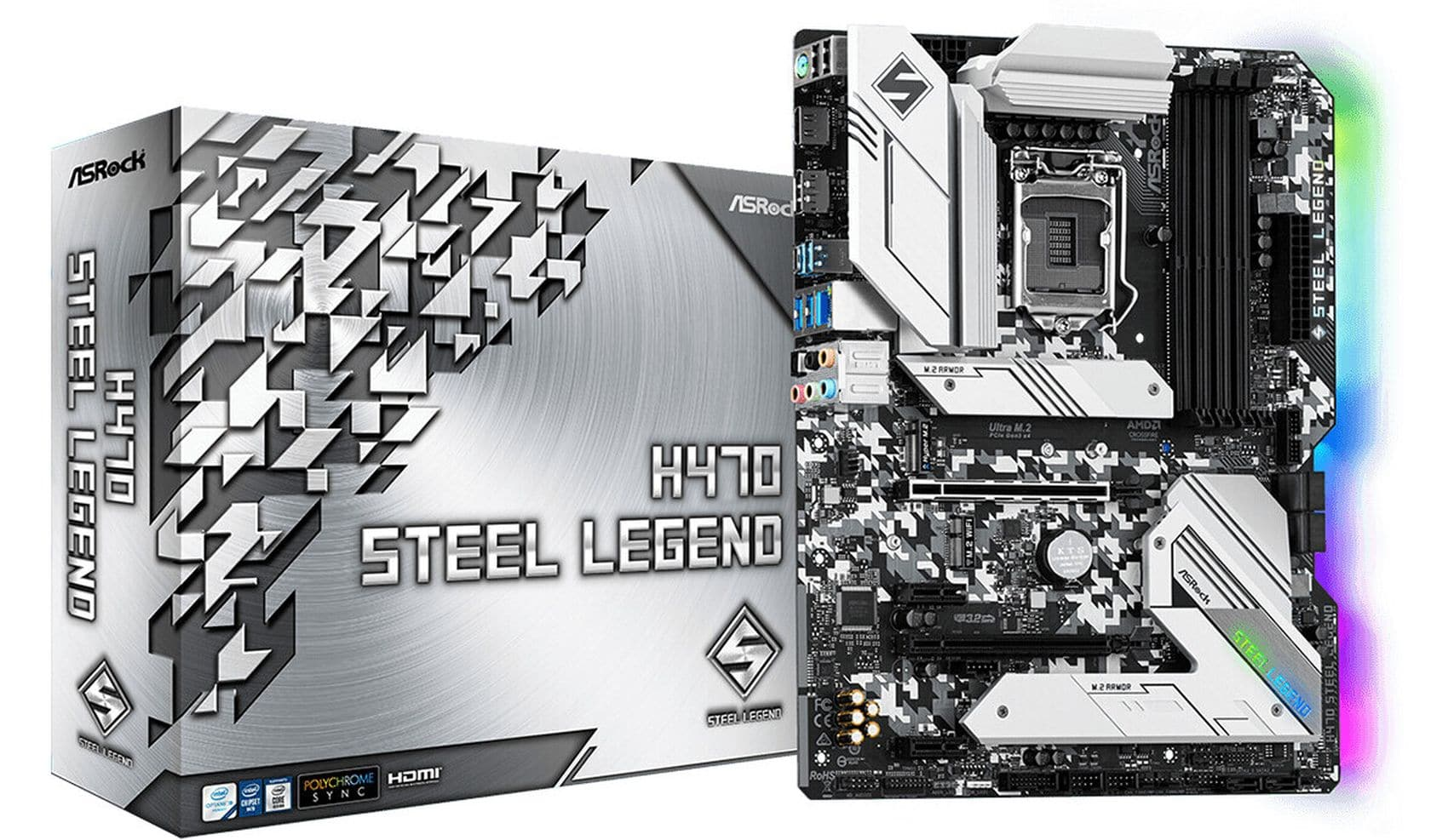 carte mère H470 Steel Legend