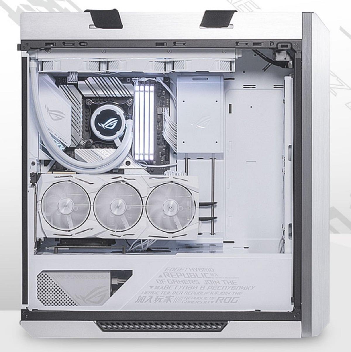 ASUS ROG Strix Helios White Edition